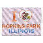 I Love Hopkins Park, IL Greeting Cards
