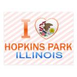 I Love Hopkins Park, IL Postcards