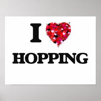 I Love Hopping Poster