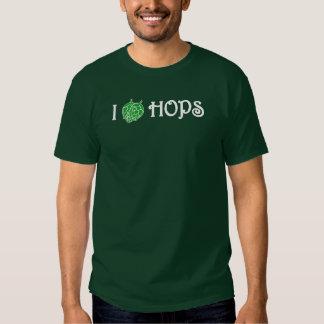 I Love Hops  Shirt