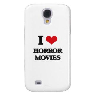 I love Horror Movies Samsung Galaxy S4 Covers