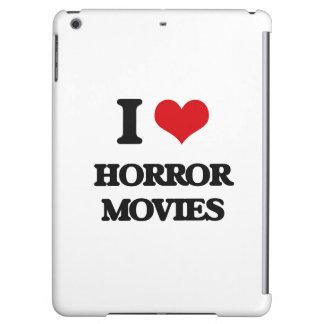 I love Horror Movies iPad Air Covers