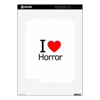 I Love Horror Skins For iPad 2