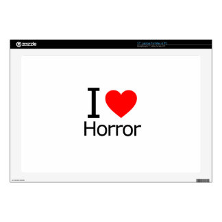 I Love Horror Decals For Laptops