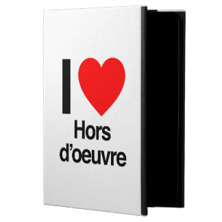 i love hors d'oeuvre iPad air cover