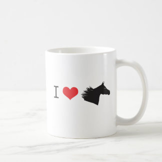 I love horse coffee mug