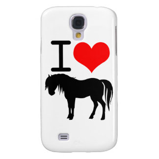 I love horse galaxy s4 cover