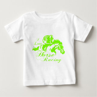 I LOVE HORSE RACING BABY T-Shirt