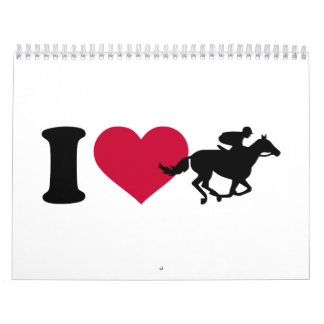 I love horse racing calendar