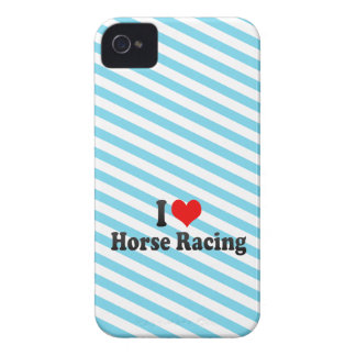 I love Horse Racing iPhone 4 Case
