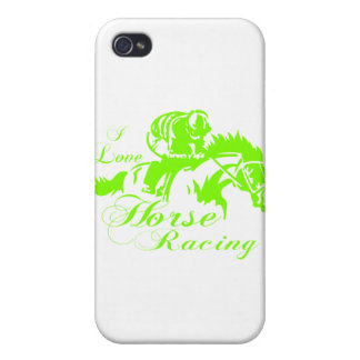 I LOVE HORSE RACING CASE FOR iPhone 4