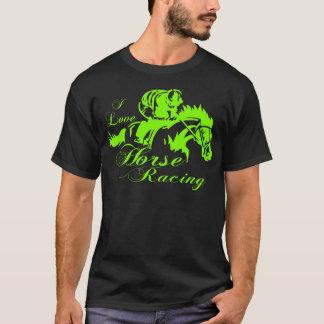 I LOVE HORSE RACING T-Shirt