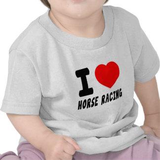 I Love Horse Racing Tshirts