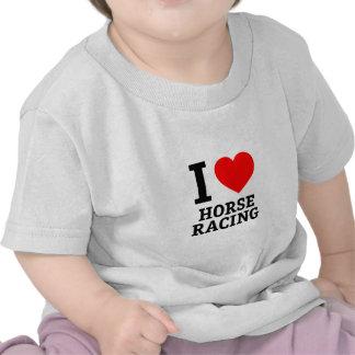 I Love Horse Racing T-shirts