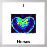 I LOVE Horses, 2009 KEYTAR... Print
