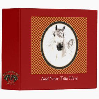 I Love Horses Custom Avery Binder