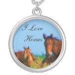 I Love Horses Custom Jewelry