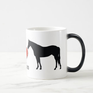 I Love Horses Magic Mug