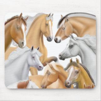 I Love Horses Mousepad