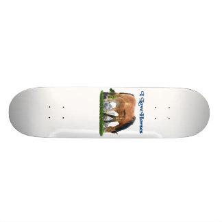 I love horses products skateboard deck