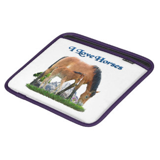 I love Horses products Sleeves For iPads