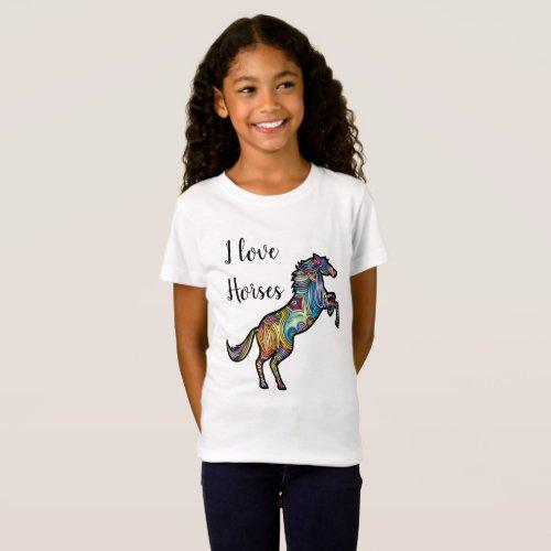 I love Horses T_Shirt