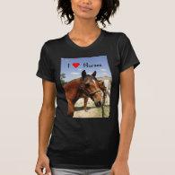 I love horses t shirts