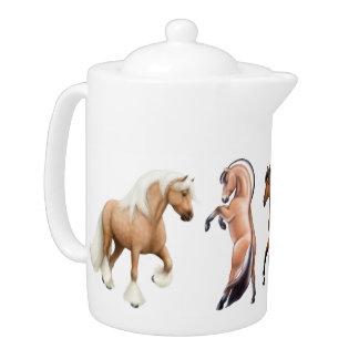 I Love Horses Teapot