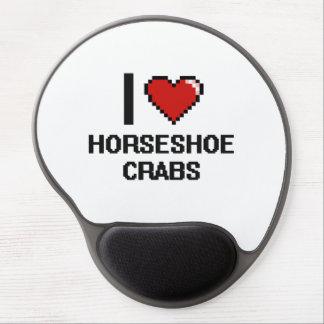 I love Horseshoe Crabs Digital Design Gel Mouse Pad