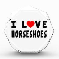 I Love Horseshoes Awards