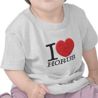I Love Horus Tees