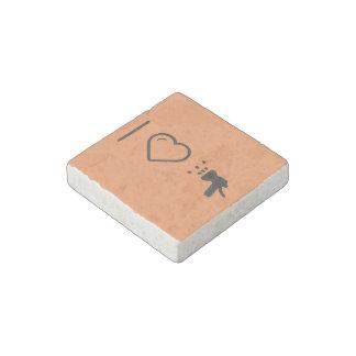 I Love Hose Stone Magnet