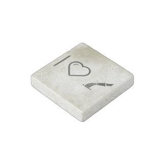 I Love Hoses Stone Magnet