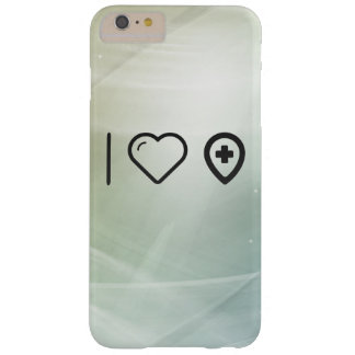 I Love Hospital Barely There iPhone 6 Plus Case