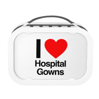 i love hospital gowns yubo lunch box