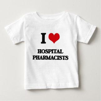I love Hospital Pharmacists Shirts