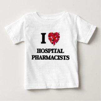 I love Hospital Pharmacists Tee Shirt