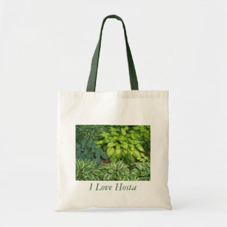 I Love Hosta Tote Bag