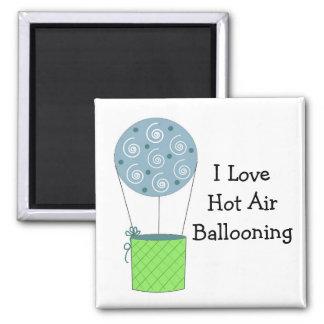 I Love Hot Air Ballooning Magnet