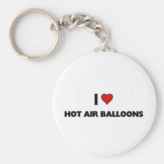 I love Hot Air balloons Keychain