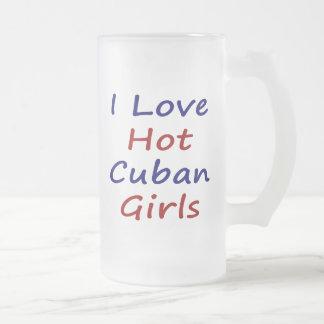 I Love Hot Cuban Girls Coffee Mug