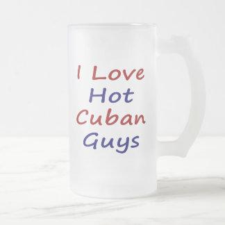 I Love Hot Cuban Guys Mug