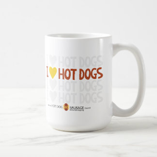 I love Hot Dogs 3 Coffee Mug