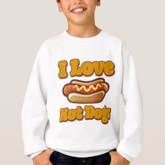 I love Hot Dogs Sweatshirt