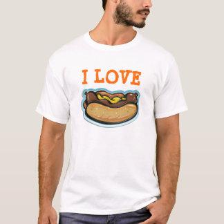 I Love Hot-Dogs - T-shirt