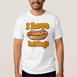 I love Hot Dogs Tees