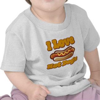 I love Hot Dogs Tshirts