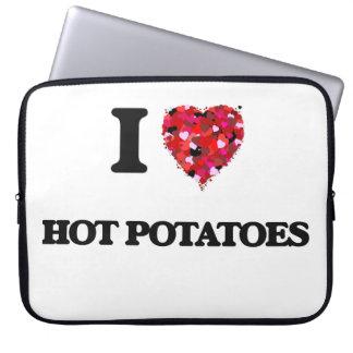 I Love Hot Potatoes Computer Sleeve