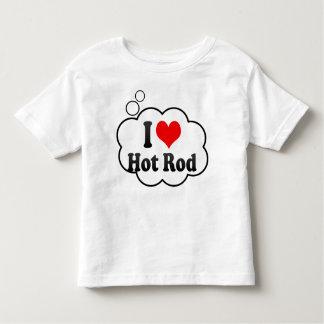 I love Hot Rod Toddler T-shirt