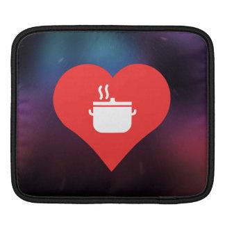 I Love Hot Soups Cool Symbol iPad Sleeve